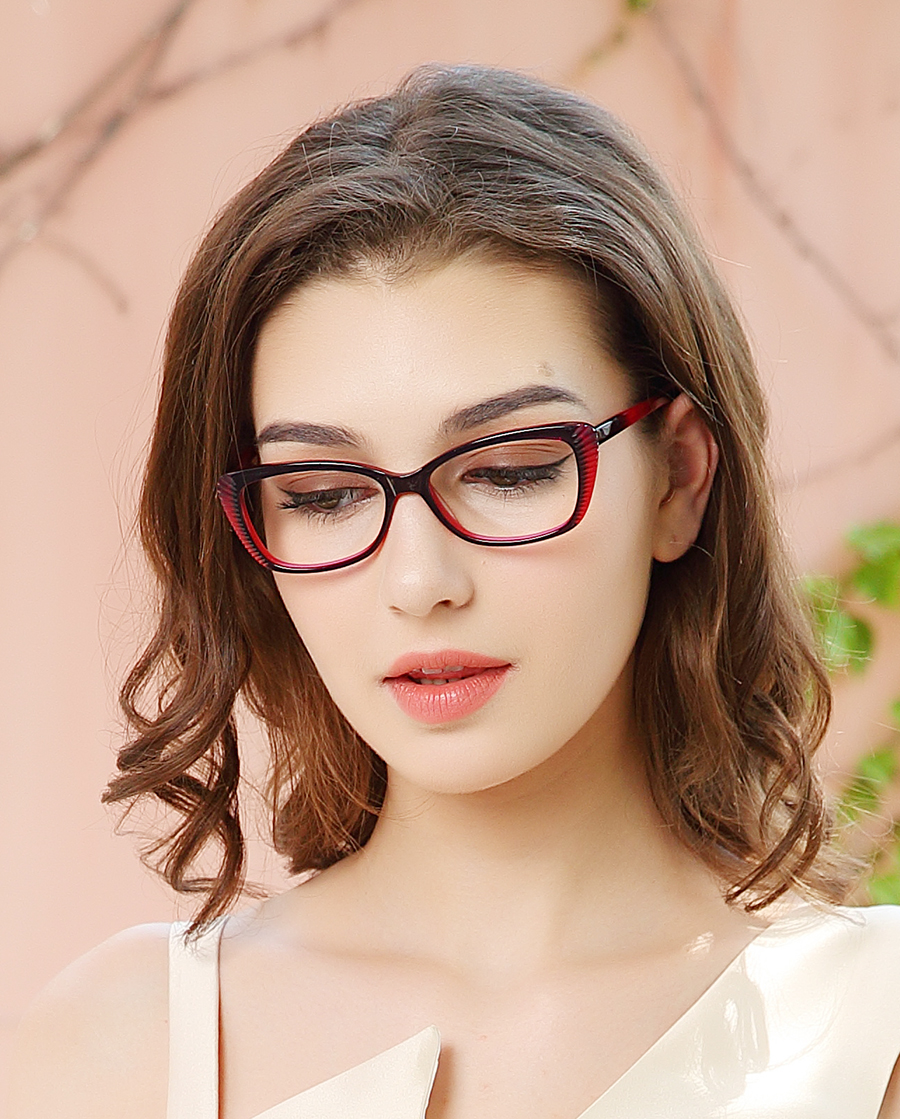 Prescription Cat Eyeglass Frame for Women