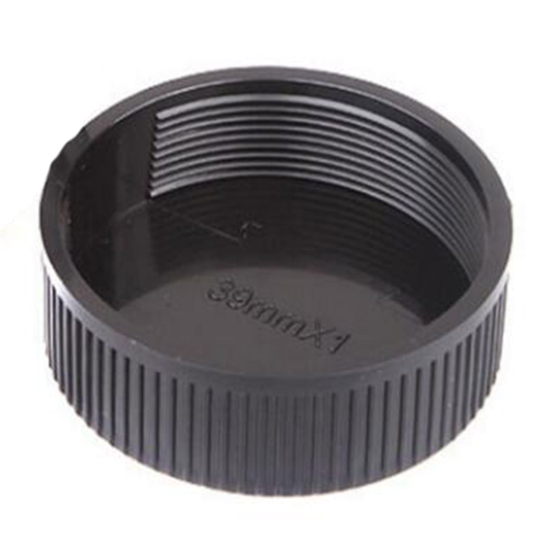5pack JJC 39mm Center Snap-on Lens Cap Camera Front Lens Cover for Canon Nikon Fujifilm Sony Olympus Panasonic Any Lens with 39mm Filter Thread Replaces Original Cap with Free Lens Cap Keeper
