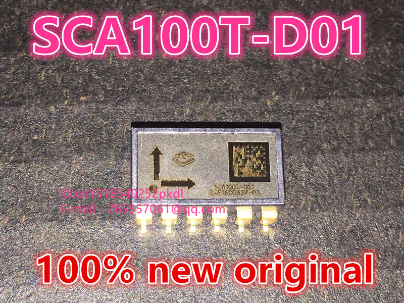 100% new original   SCA100T-D02 SCA100T-D01 SMD12 dual axis tilt sensor 5piece 100
