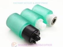 SHARE Green rubber 2BR06520 2F906240 2F906230 pickup roller kit For Kyocera M2035 P2135 M2530 2810 1300 2020 4000 FS1920 FS1016 цены онлайн
