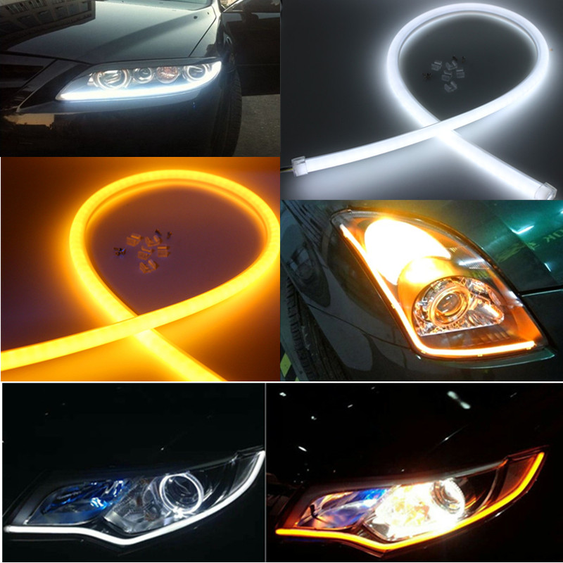 Car <font><b>led</b></font> DRL Daytime Running Light For <font><b>Mazda</b></font> 323 626 cx-5 3 6 8 Atenza <font><b>cx7</b></font> cx-7 mx5 cx3 rx8 cx5 image