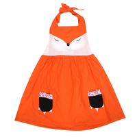 Cute Cartoon Baby Girls Beach Casual Dress Party Wedding Brithday Toddler Clothes Outfit Summer Baby Girl Dresses