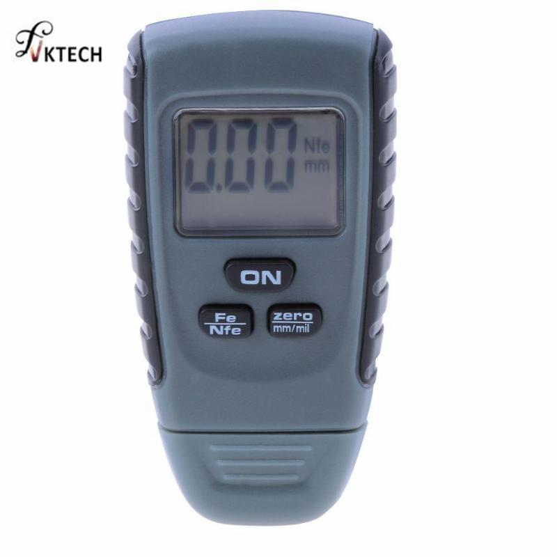 цена на RM660 Thickness Gauge Feeler Tester Fe/NFe 0-1.25mm for Car Iron Aluminum Base Metal Digital Car Paint Coating Instruments