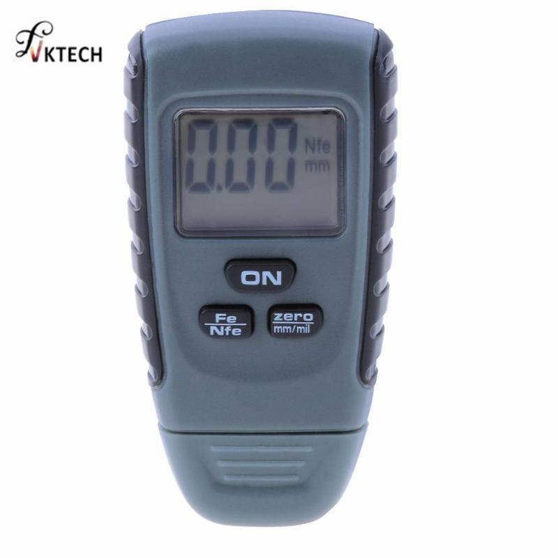 RM660 espesor calibrador Tester Fe/NFe 0-1,25mm para el coche hierro aluminio Base Metal Digital Car pintura instrumentos