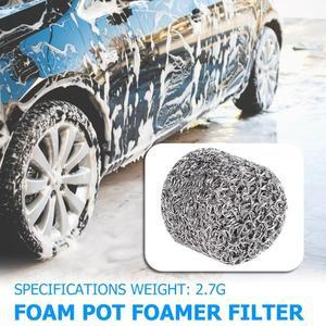 Image 2 - 1 adet paslanmaz çelik köpük aparatı yedek filtre parçaları yüksek kaliteli Lance örgü Tablet kar köpük jeneratörü araba aksesuarları