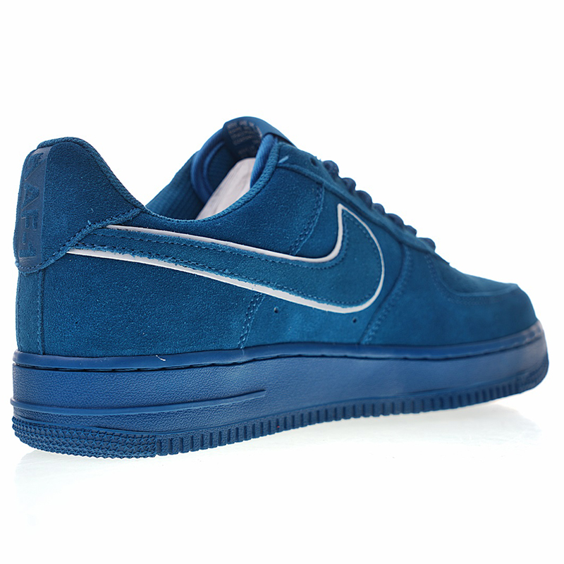Skateboarding 1 Lv8 Women's ShoesBlueBreathable Men's Shock Aa1117 Nike Suede Air 07 400 From High Quality Absorption In Force And IWED29H