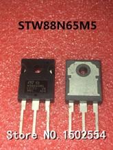 10 sztuk/partia STW88N65M5 88N65M5 TO 247 84A 650 V MOS FET
