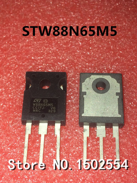 10PCS/LOT STW88N65M5 88N65M5  TO 247 84A 650V MOS FET