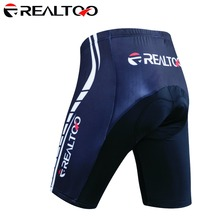 REALTOO Digital Printing Men's Cycling Shorts Bicycle 3D Padded Riding Bike Bicycle Outdoor Sports