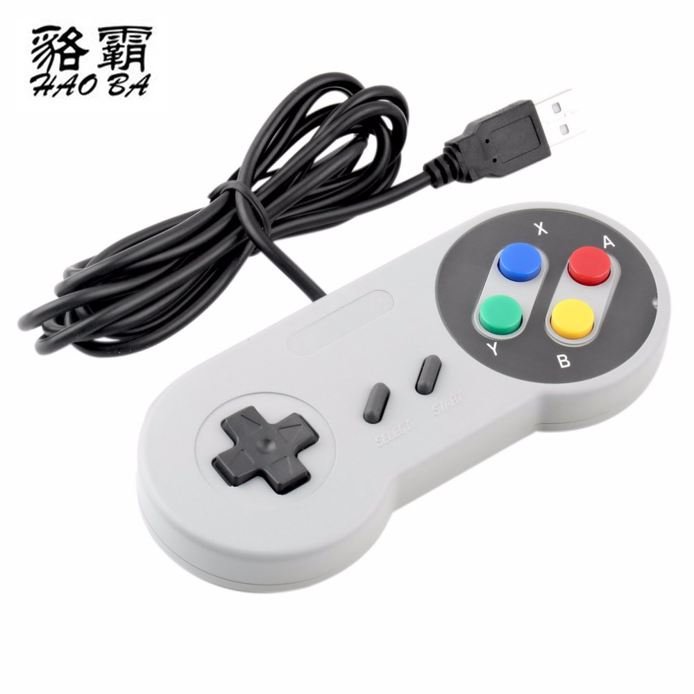 USB Controller Gaming Joystick Gamepad Controller for  SNES Game pad for Windows PC MAC Computer Control Joystick