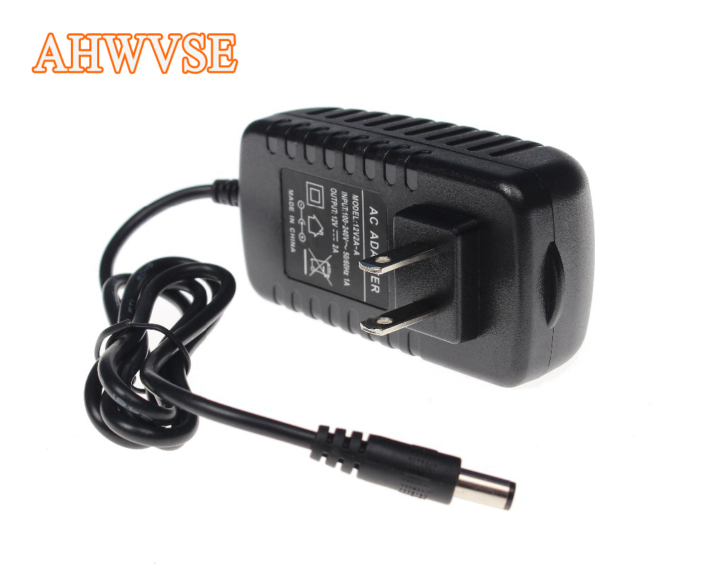US 12V 2A Power Supply AC 100-240V To DC Adapter Plug For CCTV Camera / IP Camera Surveillance Accessories dc 12v 2a ac adapter power supply transformer for surveillance cameras cctv 24w 5 5 2 1mm high quality us plug