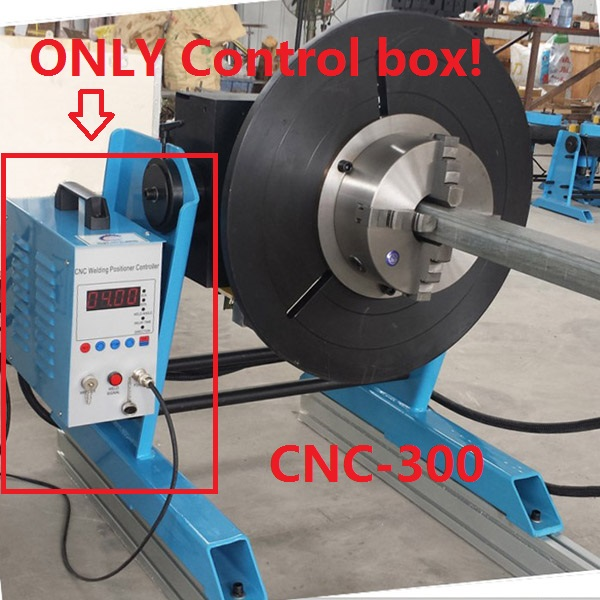 Step Motor Hige Precision Control box for CNC-300 3D Adjustable Welding Positioner Turn Table Tube Welder semi-automatic welding ...