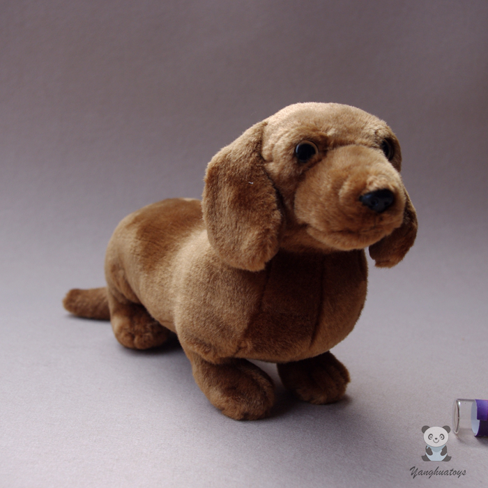 Children's Toy Gifts Stuffed Simulation Animal Dogs Dolls Short Plush Dachshund Doll Toys Good Quality new big size 85cm simulation lion stuffed plush toys artificial animal toy doll home accessories home decor gift toys juguetes