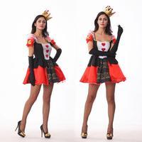 Neue spiel einheitliche gericht prinzessin cosplay kostüm königin kleid charakter Halloween party uniformen großhandel