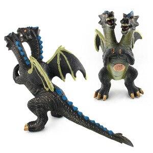 Image 2 - Большой размер динозавр игрушка фигурки тиранозавра Рекс мягкая модель игрушка для мальчиков подарок на день рождения для детей