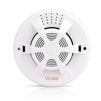 433Mhz Wireless Smoke Sensor For Vcare Smart Home Alarm System With Automatic Detection Sound Light Alarm