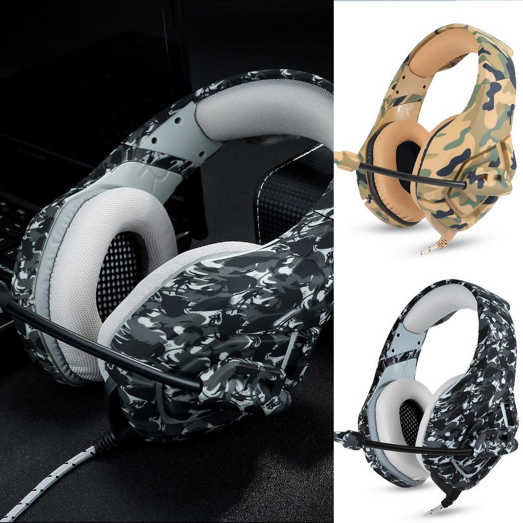 Wired 3.5mm Headphone Gaming Headset Music Approx. 2.2m/86.6inch Earphone For PC With Below 100mA Microphone