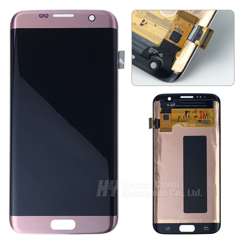 Original Super Amoled For SAMSUNG Galaxy S7 edge G935F G935A G935FD G935P LCD Display with Touch Screen Digitizer Assembly