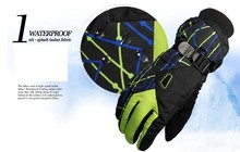 GLV995 Men and Women New product outdoor warm ski font b gloves b font Thickening antiskid
