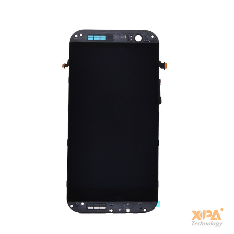 ФОТО good quality Touch Screen Digitizer Glass +lcd display assembly For HTC One 2 M8 831c with silver Frame+tracking code