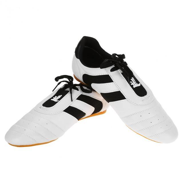 Taekwondo Shoes Sport Boxing Kung fu TaiChi Wu Shu Karate Lightweight Breathable Shoes for Adult Kids Children Taekwondo-shoes
