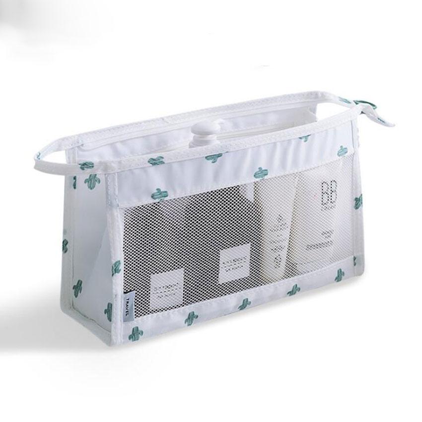 JIARUO Bag Toiletry-Bag Makeup-Organizer Hang-Up Transparent Hand-Storage Small Waterproof