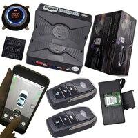 Система слежения gps с автосигнализацией без ключа двигатель зажигания кнопка запуска стоп мобильное приложение пульт дистанционного управ