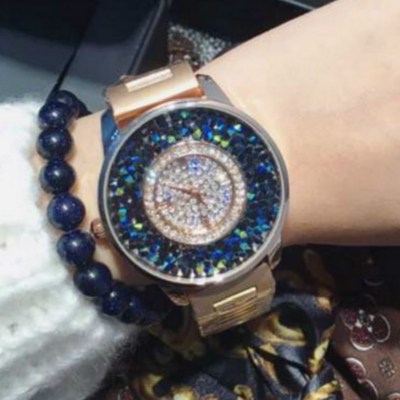 Top Luxury Rhinestone Full Steel Bracelet Watch Women Watches Ladies Gold Quartz Watch Lady Hour montre femme relogio feminino geneva brand fashion rose gold quartz watch luxury rhinestone watch women watches full steel watch hour montre homme reloj mujer