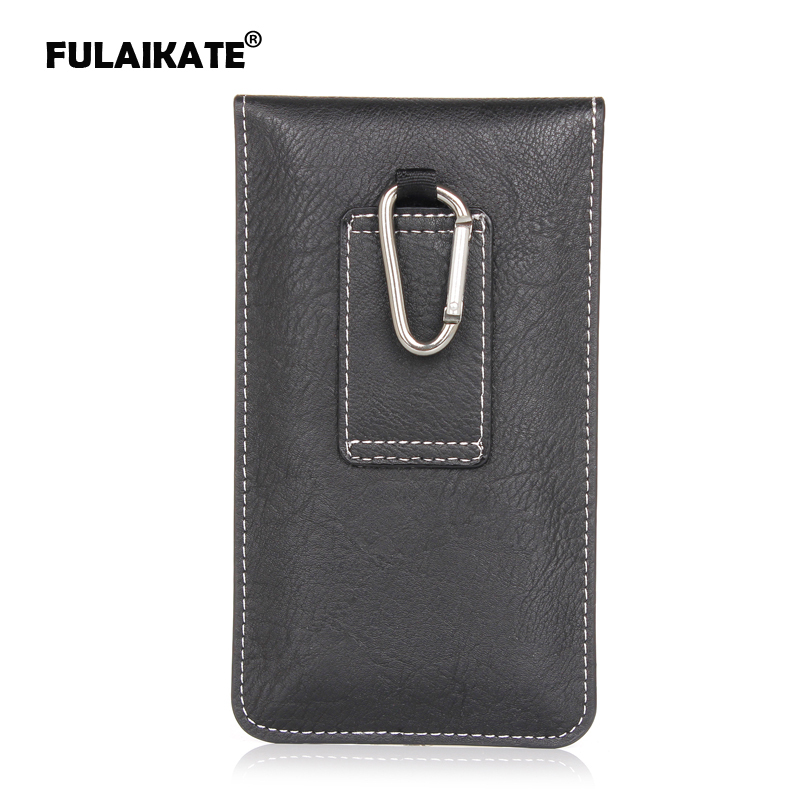 FULAIKATE Multi-function waist bag for <font><b>iphone6</b></font> 7 plus <font><b>case</b></font> 5.5 inch universal holster for note4 note3 Pouch with <font><b>card</b></font> pocket image