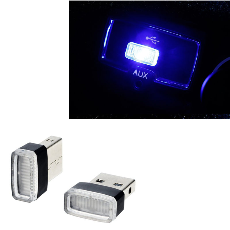 Universal Car-Styling <font><b>USB</b></font> LED Atmosphere Lights Decorative Lamp for <font><b>Fiat</b></font> Panda Bravo Punto Linea Croma <font><b>500</b></font> 595 image