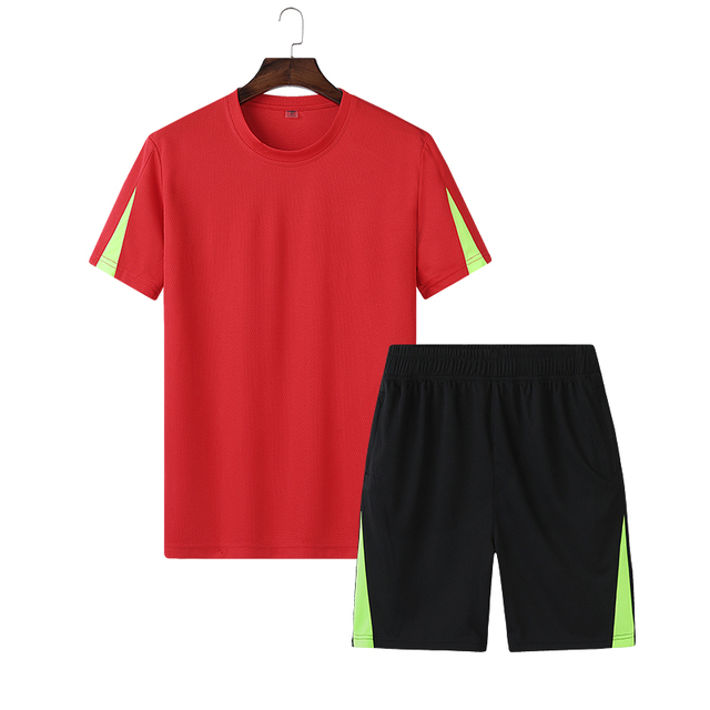 M to 9XL Children Soccer Sets Polyester Sportswear Boys Big Size Basic Style Football Sets Team Game Training Child  Sport Suit
