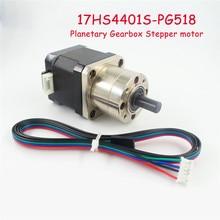 Бесплатная доставка экструдер Шестерни Шаговый двигатель отношение 5.18: 1 Планетарная Шестерни коробка NEMA 17 шаг Двигатель для 3D-принтеры Новинка