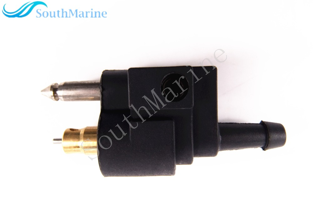 "UK Fuel Line Tank Connector For Yamaha Outboard Engine 1//4/"" 6mm Male Mount Hose"