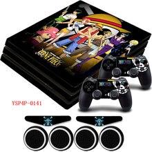 One Piece Vinyl PS4 Skin Sticker Gamepad Skins