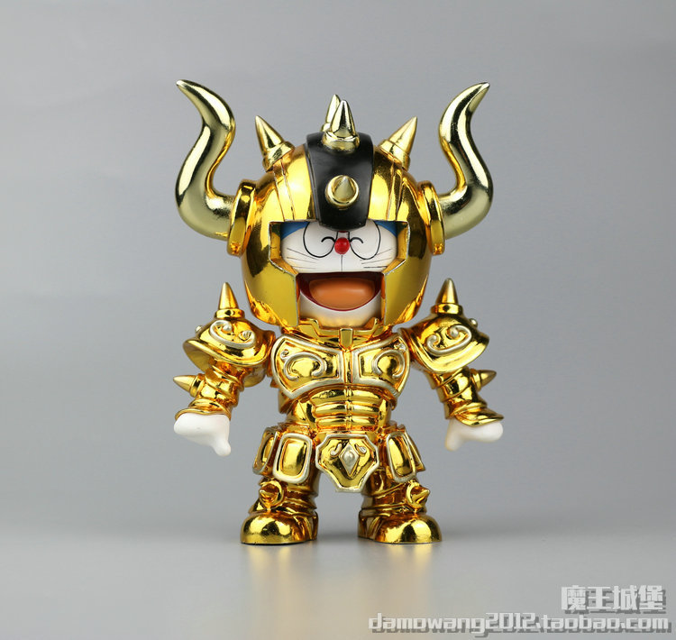 Fast Shipping Knights of the Zodiac Taurus Doracat  PVC Action Figure Toys 10CM Kids Toys for Birthday Gift  Anime Collection робот zodiac ov3400