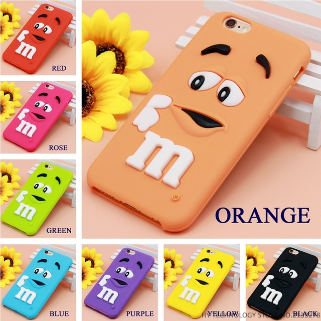 M&M's Rubber Case For iPhone