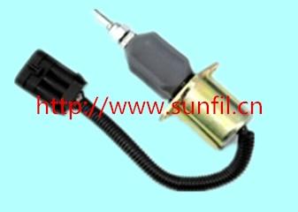 Fuel Shutdown Solenoid Valve  SA-4780-24,1751ES-24A7UC9B5S5  ,24V fuel shutdown solenoid 1823723c91 sa 4338 24 for cummins navistar 24v