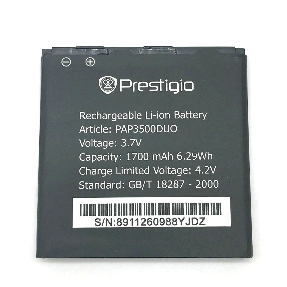 1Pcs High Quality New Original PAP3500 Battery for Prestigio MultiPhone PAP3500 DUO PAP 3500 Mobile Phone + Track Code
