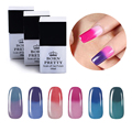 BORN PRETTY Temperature Color Changing Thermal Soak Off Nail UV Gel Polish 7-12