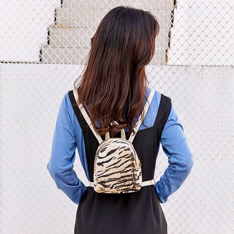 1 Pcs Women Lady Backpack Leopard Print Fashion PU Leather For Travel Mobile Phone Best Sale-WT1 Pcs Women Lady Backpack Leopard Print Fashion PU Leather For Travel Mobile Phone Best Sale-WT