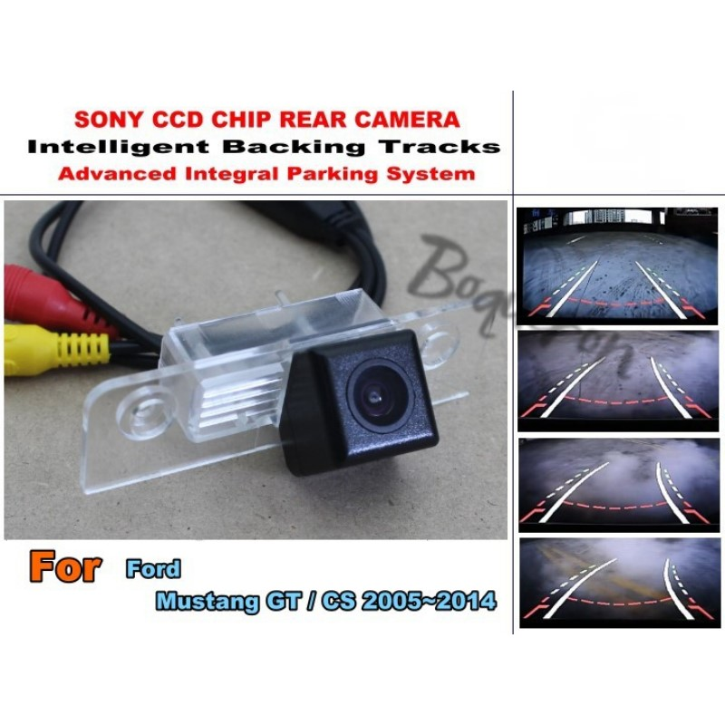 For Ford Mustang GT CS 2005 2014 CCD Night Vision 20M Waterproof High Quality Camera Smart