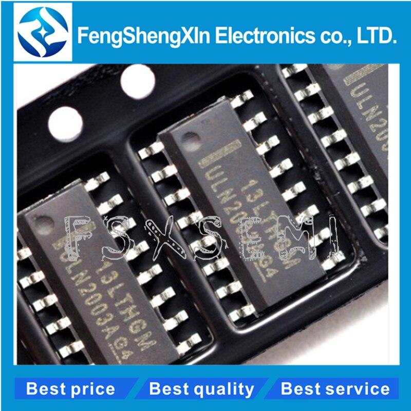 10 pcs/lot ULN2003ADR ULN2003A ULN2003 tableau de transistors DARLINGTON haute tension haute tension SOP-1610 pcs/lot ULN2003ADR ULN2003A ULN2003 tableau de transistors DARLINGTON haute tension haute tension SOP-16