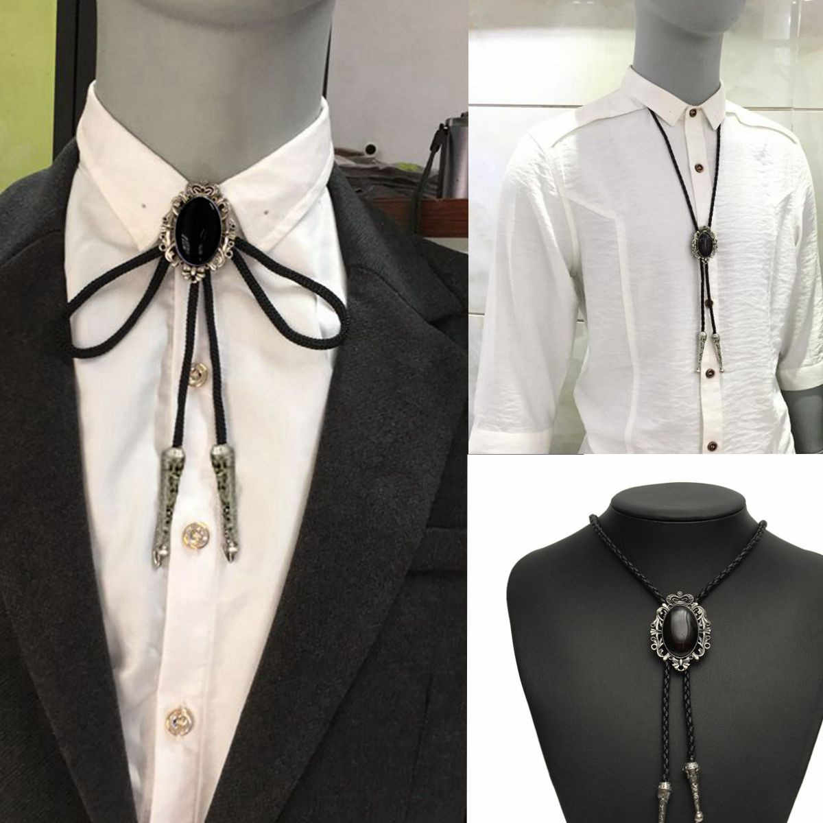 359cf49a1e Detail Feedback Questions about Cowboy Necktie Bolo Tie Dance Rodeo ...