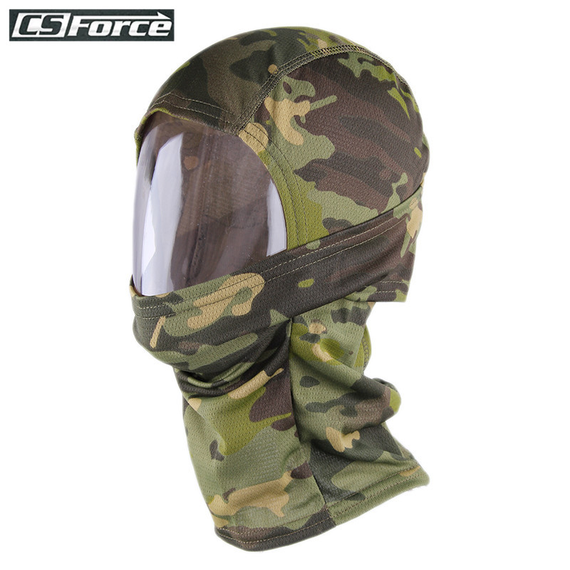 Balaclava Breathable Quick Dry Sports Ski Mask Hats Tactical Head Cover Motorcycle Protection Full Face Mask Hunting Accessories