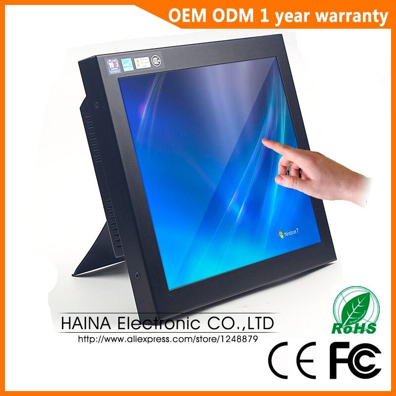 Промышленный Портативный сенсорный ЖК экран, 12 дюймов, сенсорный ЖК экран для настольного монитора, сенсорный экран для POS терминал