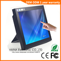 Monitor de pantalla táctil LCD portátil Industrial de 12 pulgadas, Monitor de escritorio de pantalla táctil LCD de 12 pulgadas, Monitor táctil para Terminal POS