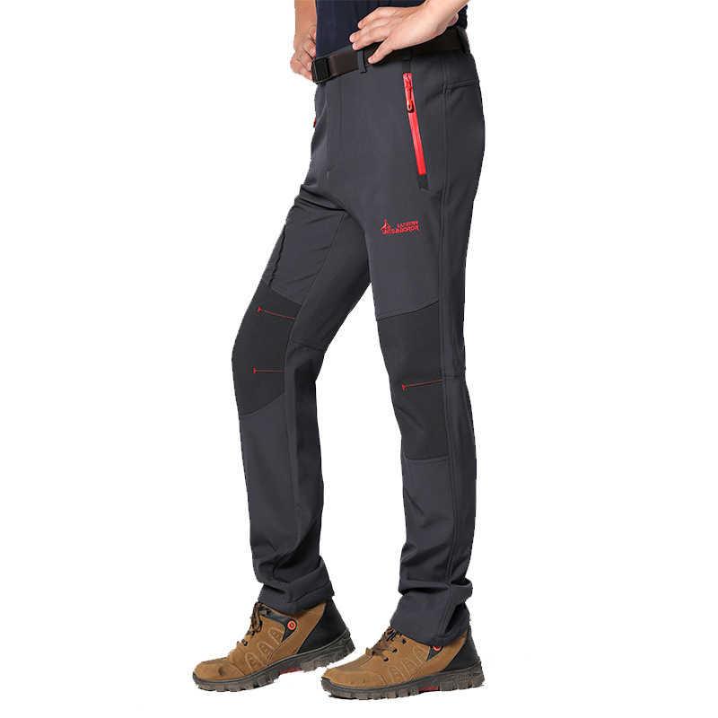 Модные женские длинные брюки осень-зима мужские и женские быстросохнущие толстые флисовые брюки Капри теплые брюки флисовые брюки дышащие