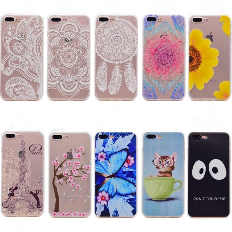 <font><b>Phone</b></font> <font><b>Case</b></font> <font><b>For</b></font> <font><b>iPhone</b></font> 7 Plus Cover <font><b>Silicone</b></font> Soft Lovely Animals <font><b>Glasses</b></font> Cat Sunflower Back <font><b>Shell</b></font> TPU Gel <font><b>For</b></font> <font><b>iPhone</b></font> 7 Plus Cover