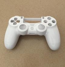 PS4 V1 Gen 1 manette lisse blanc coque avant arrière étui de protection couverture réparation pour Playstation 4 Dualshock 4 PS4 Gamepad