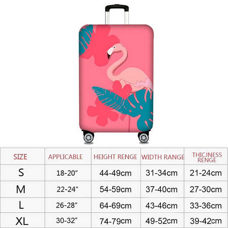 2018 Новый эластичный толстый Фламинго чехол для чемодана чехол для багажника чехол для 19 ''-32'' защитный чехол для костюма